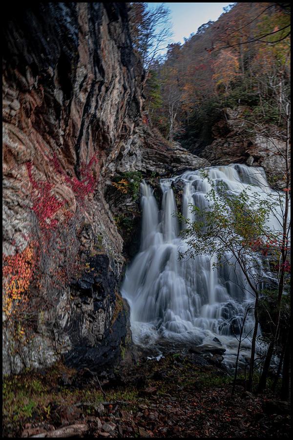 Cullasaja River Gorge Falls by Kelly Kennon