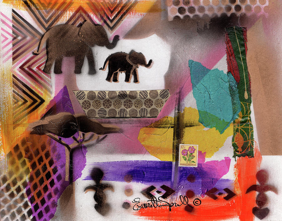 Cultural Remnant - R by Everett Spruill