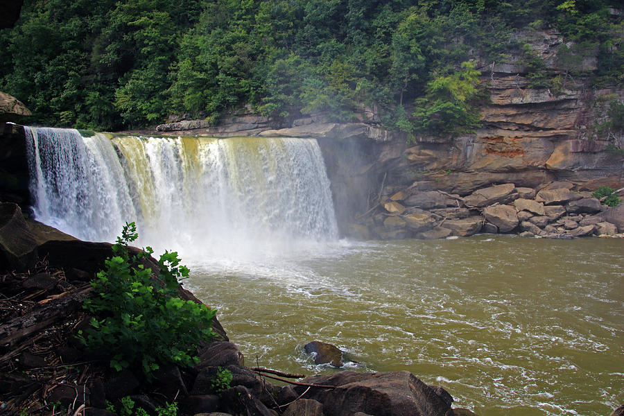 Cumberland Falls Kentucky by Angela Murdock