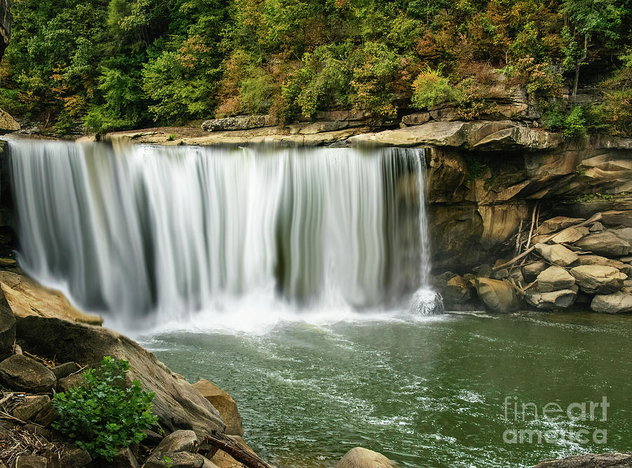 Cumberland Falls by Randy J Heath