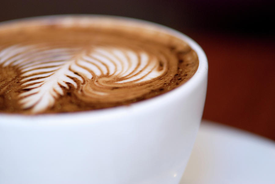 Cup Of Cappuccino Photograph by Helen Yin