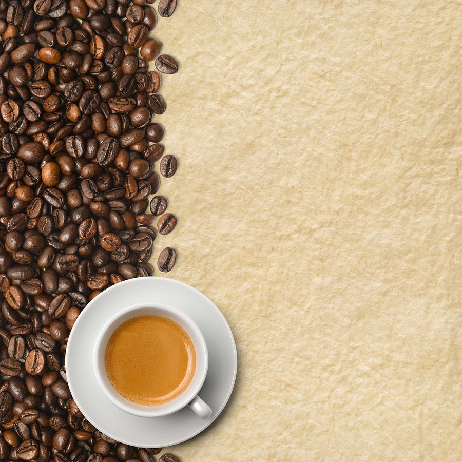 Cup Of Coffee On Beans Photograph by Zocha k