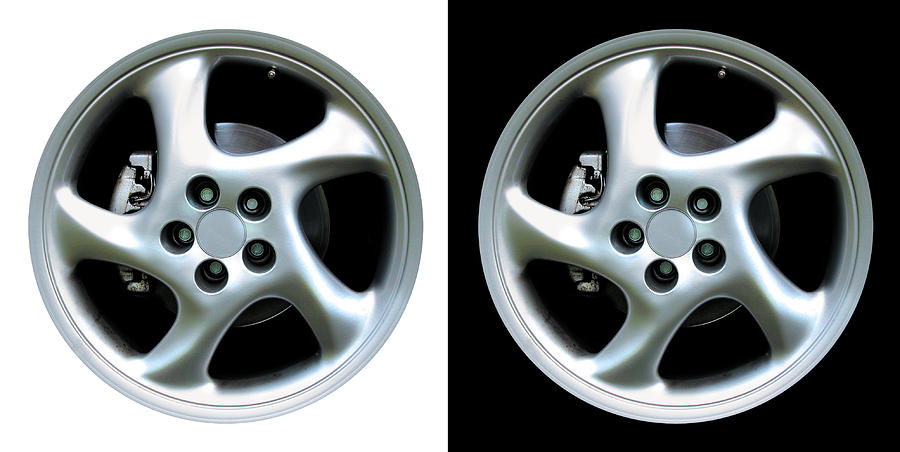 Cup Turbo Sport Rims Photograph by Dgid