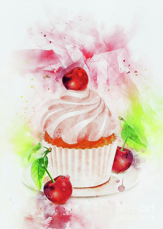 Cupcake Art by Ian Mitchell