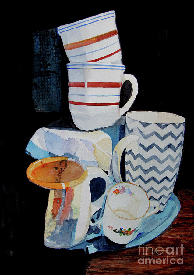 Cups by Sandy McIntire