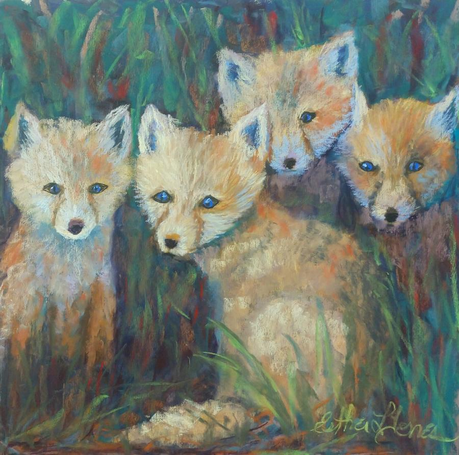 Fox Pastel - Curiosity Kits by Esther Jones