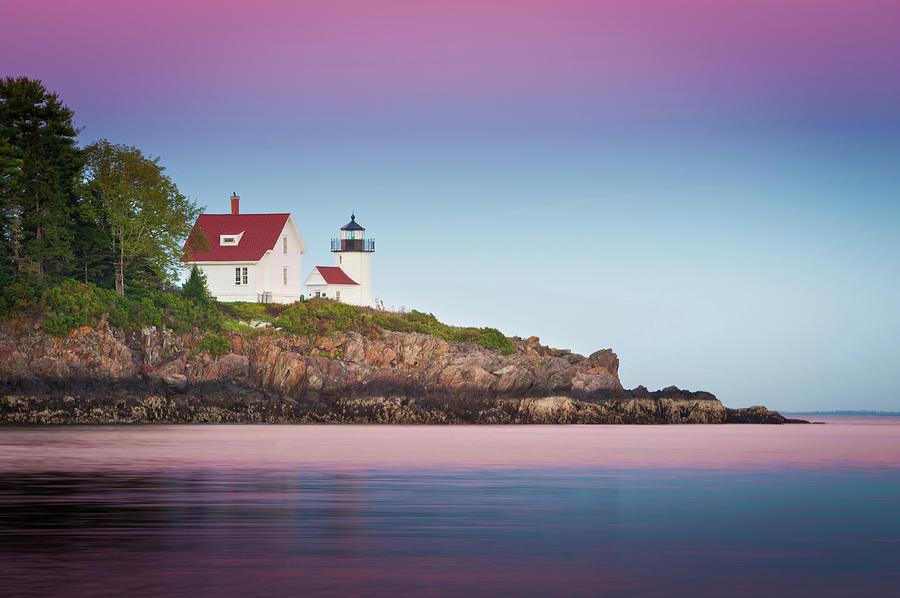 Curtis Island Lighthouse - Camden, Me Photograph by Doug Van Kampen, Van Kampen Photography