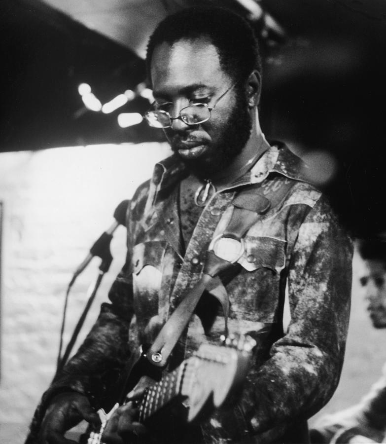 Curtis Mayfield Performs Photograph by Hulton Archive