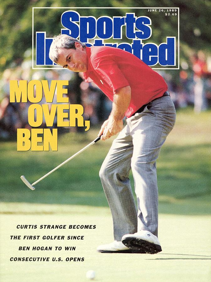 Curtis Strange, 1989 Us Open Sports Illustrated Cover Photograph by Sports Illustrated