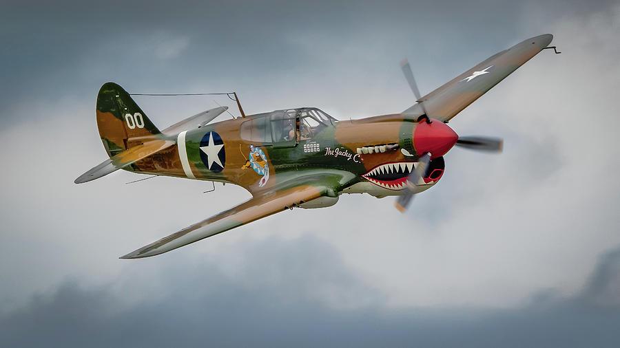 Curtiss P-40 Warhawk by Brian Caldwell