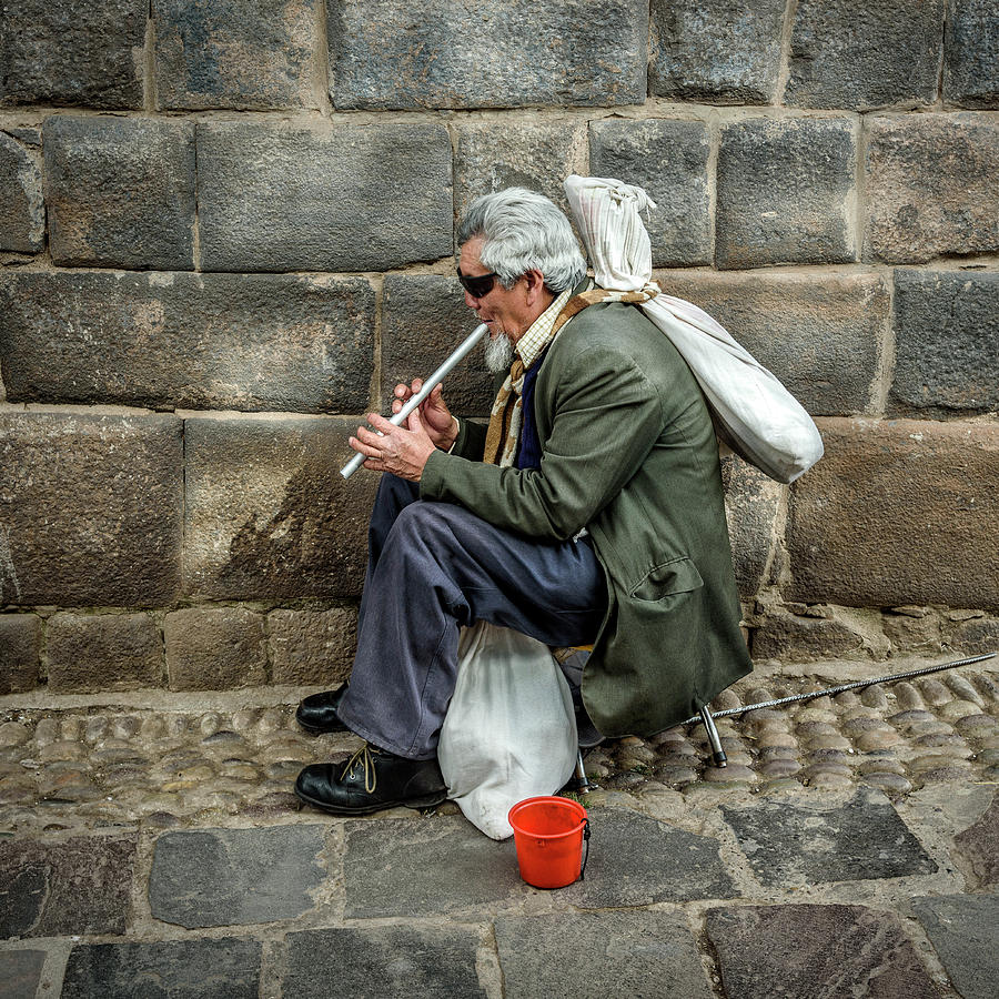 Cusco Man by Jon Exley