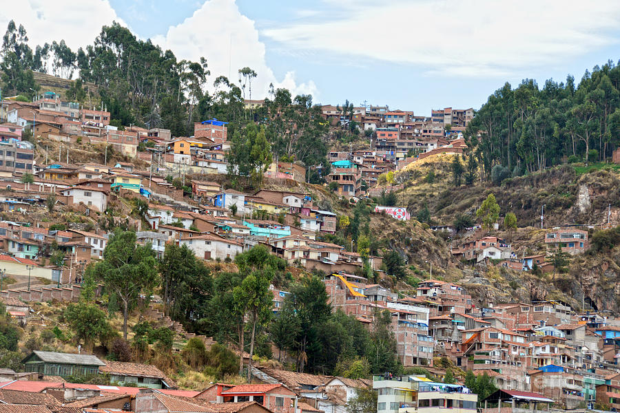 Cusco, Peru, Hillside Neighborhoods by Catherine Sherman