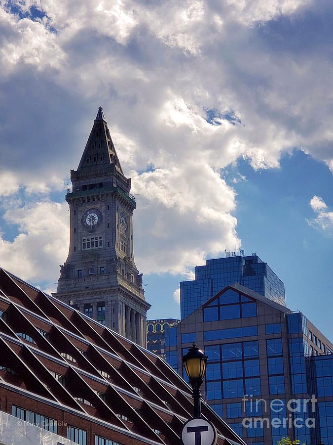 Custom House Clock Tower by Mary Capriole