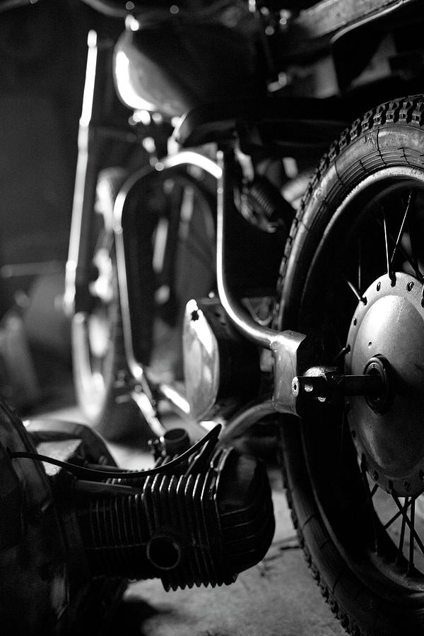 Custom Motorcycle Photograph by Alexey Bubryak