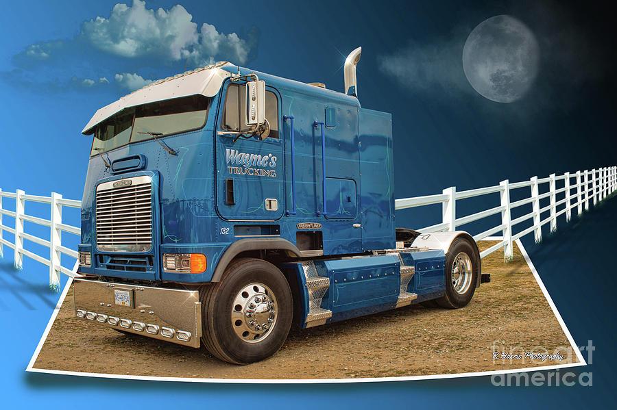 CUSTOM TRUCK CATR9421-19 by Randy Harris