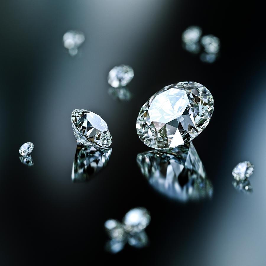 Cut Diamonds Digital Art by Doug Armand