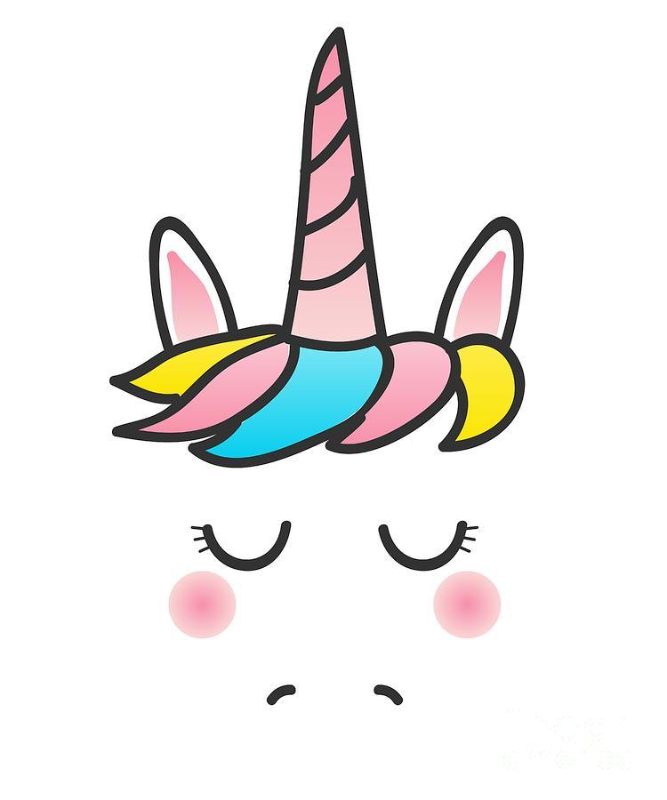 Cute Unicorn Face by Flippin Sweet Gear