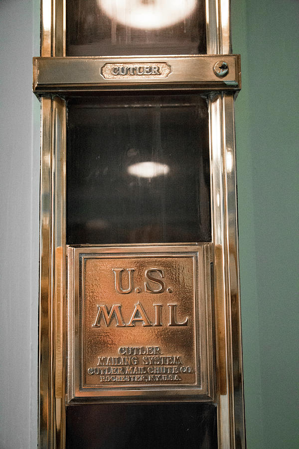 Cutler Photograph - Cutler Mail Chute Greenbrier Wv by Betsy Knapp