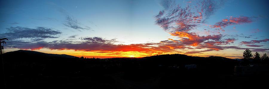 Cuyamaca Sunset Panoramic by Anthony Jones