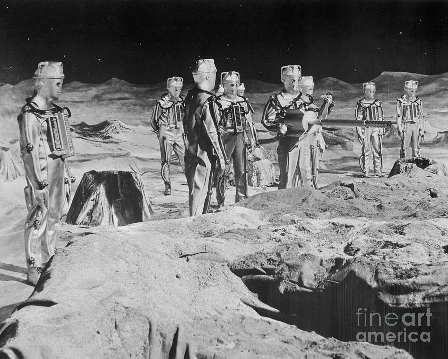 Cybermen Preparing To Battle Dr Who Photograph by Bettmann