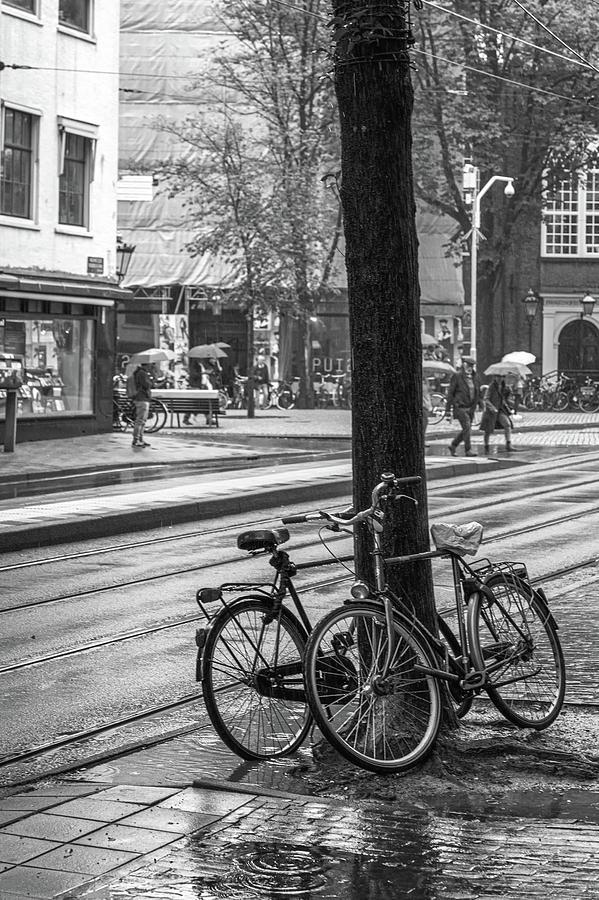 Cycles in Rain by Joseph Smith