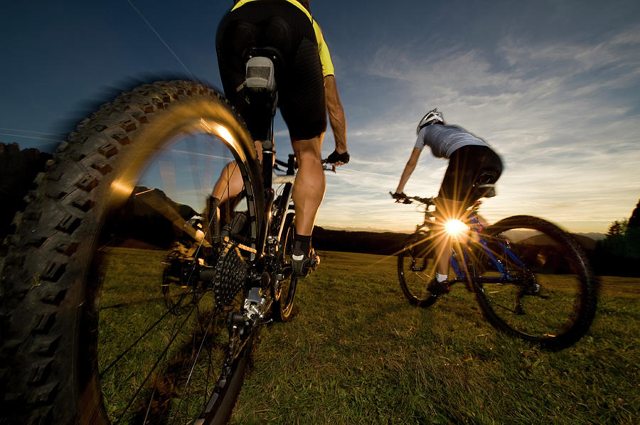 Cycling Adventure Photograph by Gorfer