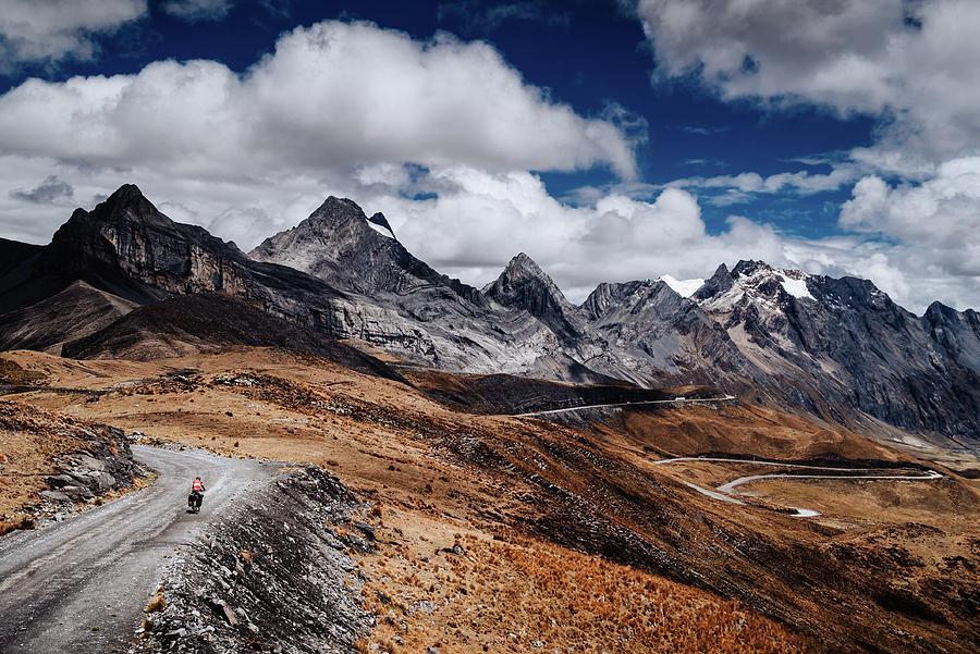 Cycling in the Huascaran National Park in Peru by Kamran Ali