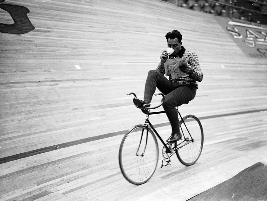 Cycling Marathon Photograph by Derek Berwin