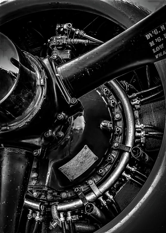 Cyclone Aircraft Engine by Bob Orsillo
