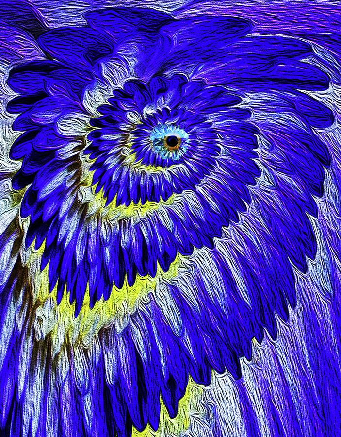 Cyclops Digital Art - Cyclops 1a by Bruce IORIO