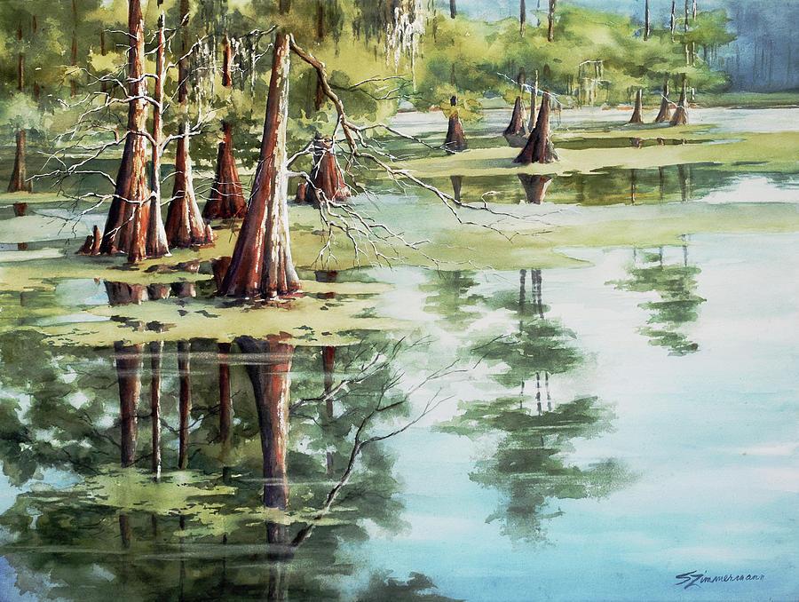 Cypress Lake by Sue Zimmermann