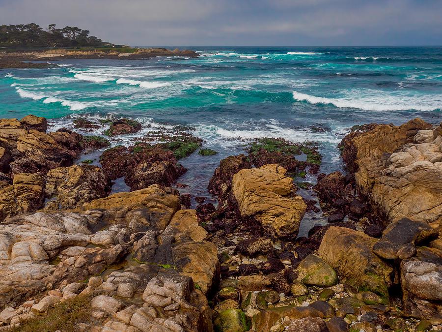 Cypress Point Waves by Derek Dean