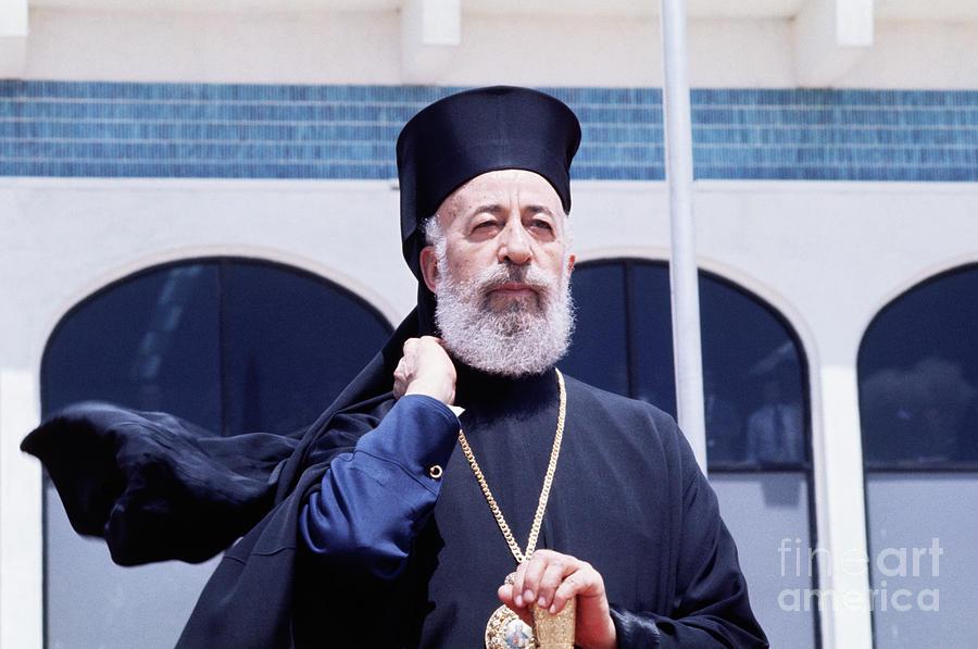 Cyprus President Archbishop Makarios Photograph by Bettmann