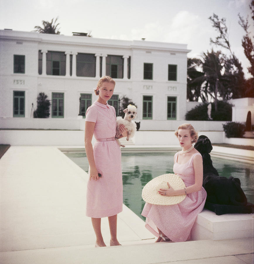 C.z. And Guest Photograph by Slim Aarons