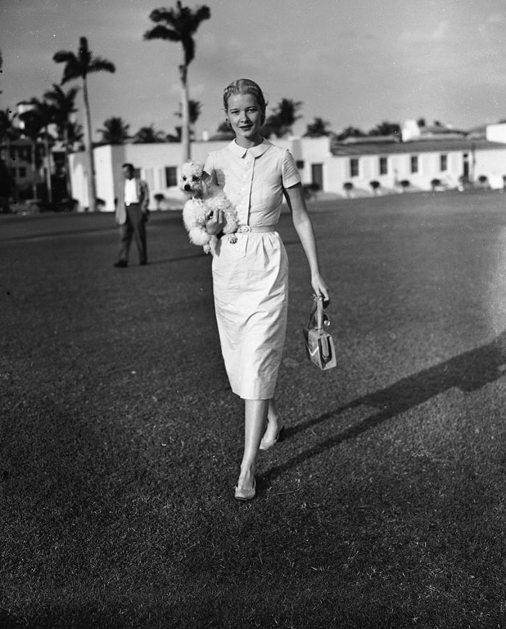 C.z. Guest At The Everglades Club In Photograph by Bert Morgan