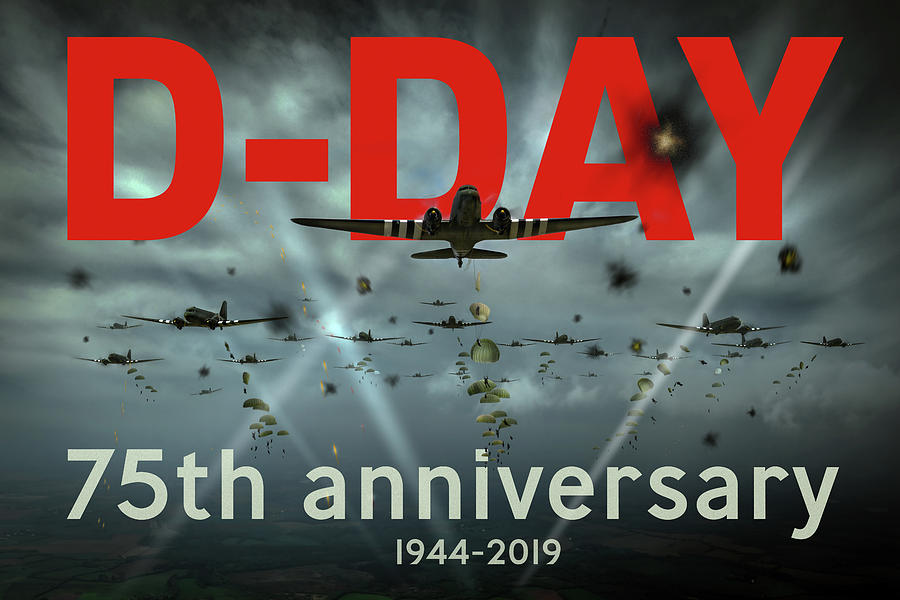 D-Day 75th poster by Gary Eason