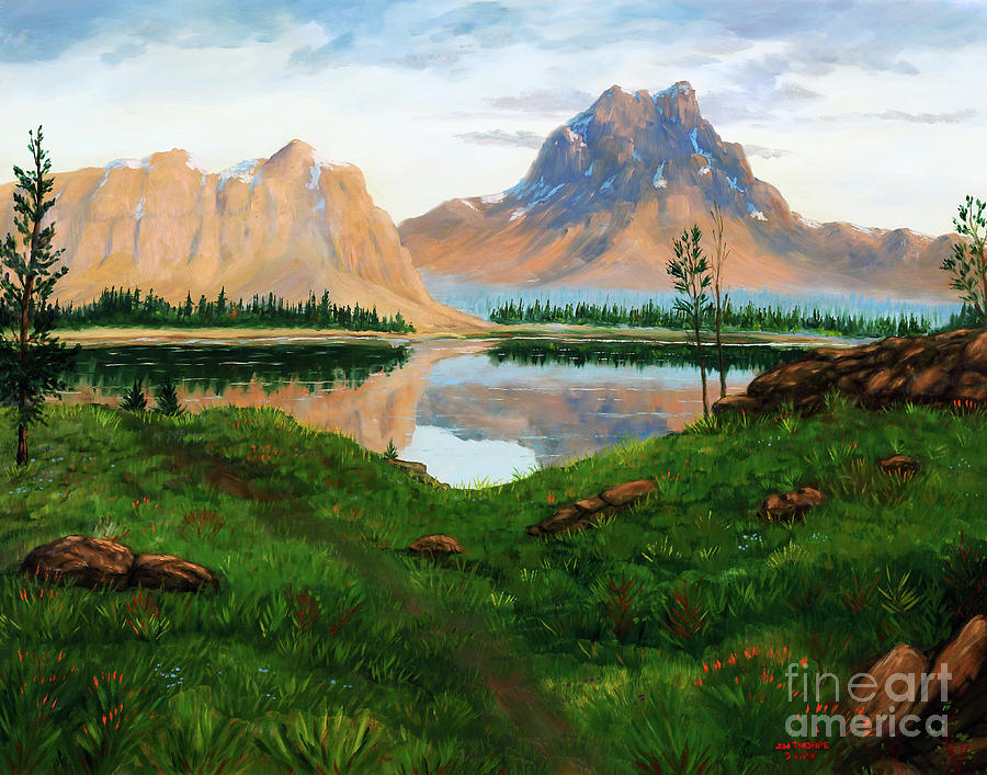 Daddy's World - Uinta Mountains by Dee Leah G
