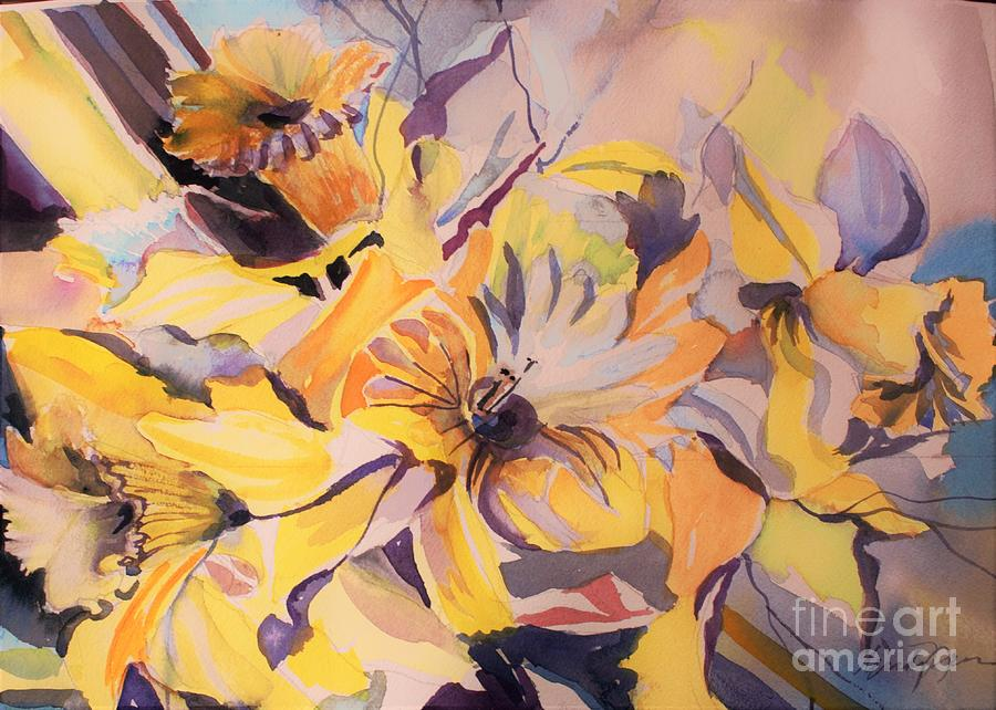Daffodil Whimsy  by Mindy Newman