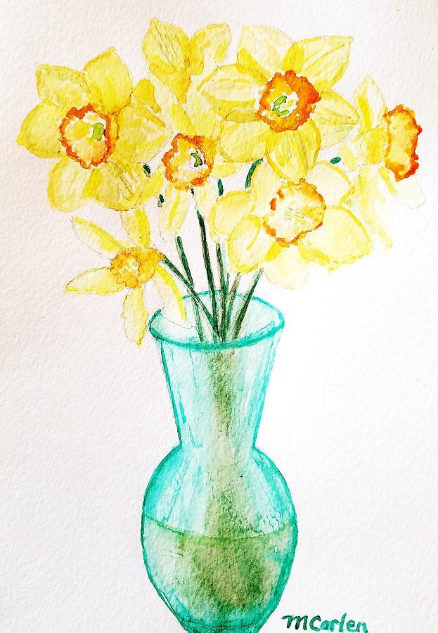 Daffodils by M Carlen