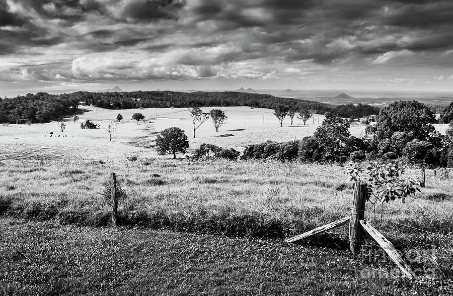 Farm Photograph - Dahmongah Lookout, Mount Mee by Jorgo Photography - Wall Art Gallery