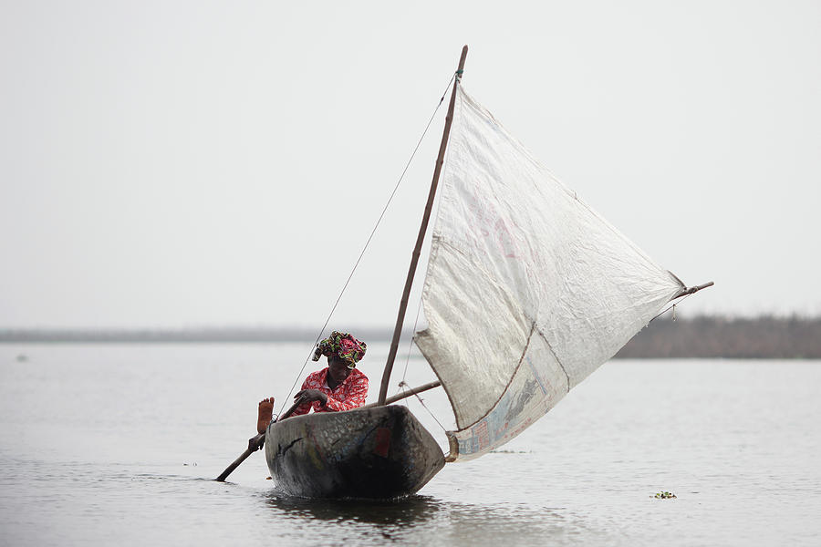 Daily Life In And Around Cotonou Photograph by Dan Kitwood