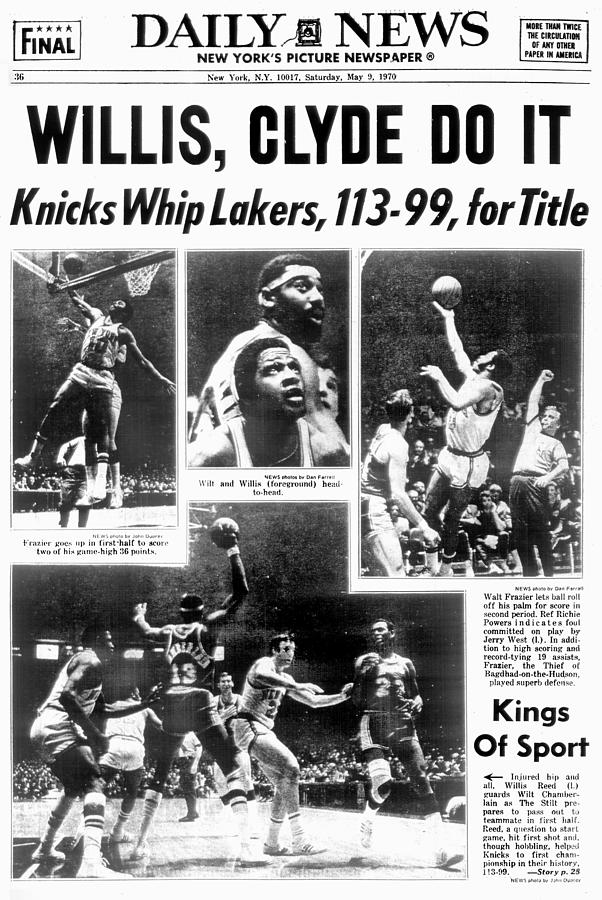 Daily News Back Page Dated May 9, 1970 Photograph by New York Daily News Archive