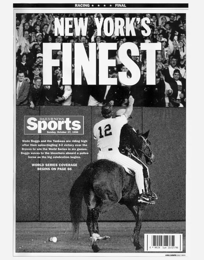 Daily News Back Page Photograph by New York Daily News Archive