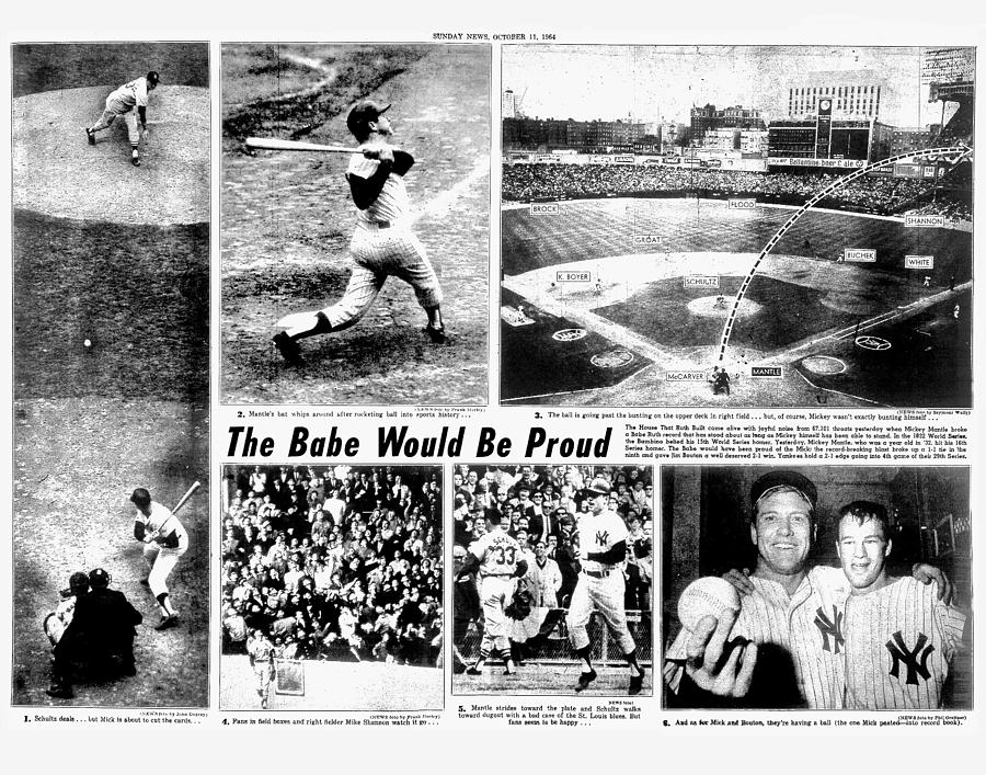 Daily News Centerfold Page 80 - 81 Photograph by New York Daily News Archive