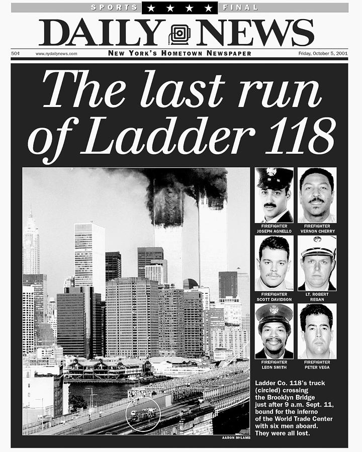 Daily News Front Page Dated Oct. 5 Photograph by New York Daily News Archive