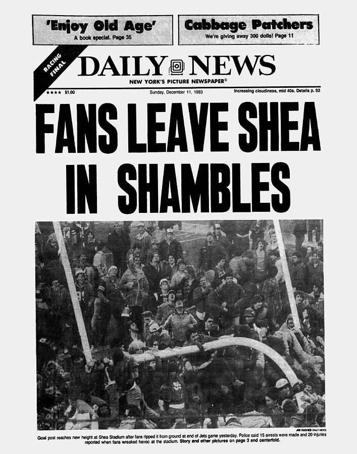 Daily News Front Page December 11 Photograph by New York Daily News Archive