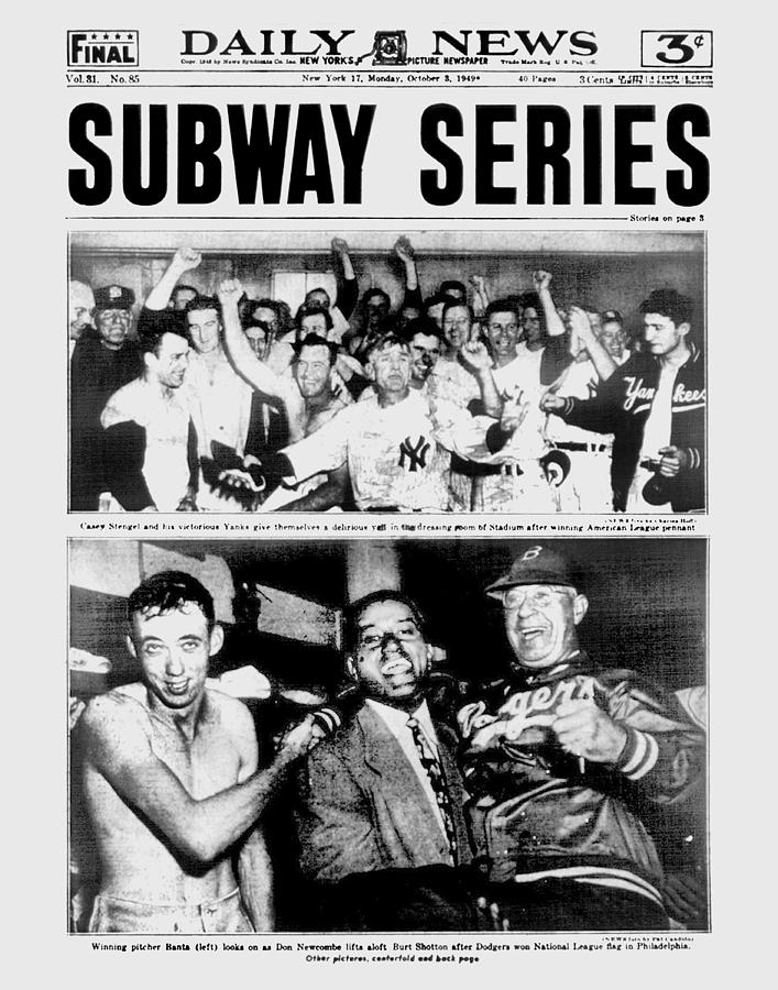 Daily News Front Page October 3, 1948 Photograph by New York Daily News Archive
