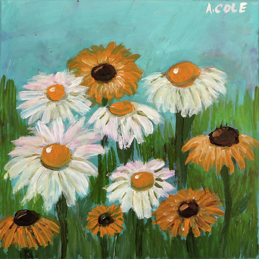 Daisies by Andrea Cole