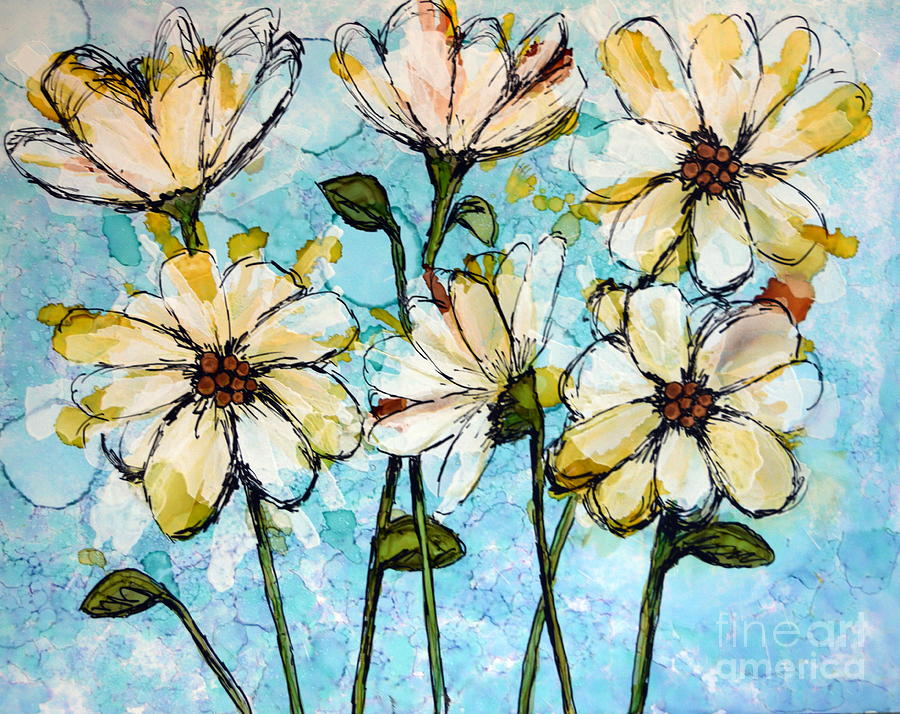 Daisies by Beth Kluth