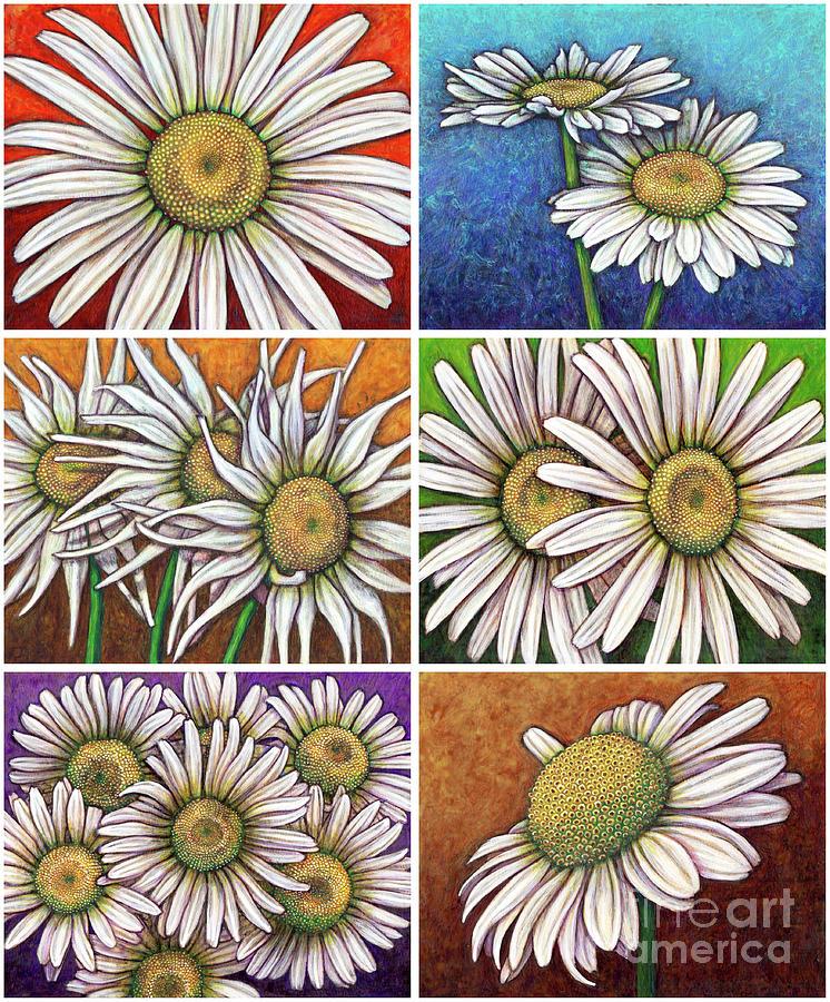 Daisy Garden Patchwork by Amy E Fraser